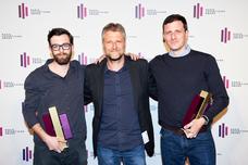 John Drewes (Jung von Matt), Torsten Hennings (Studio Funk), David Leinweber (Jung von Matt)