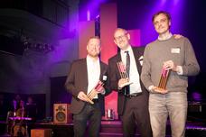 Frank Fürwentsches (Telekom Deutschland), Oscar Meixner (Hastings Music), Dennis Krumbe (DDB Hamburg)