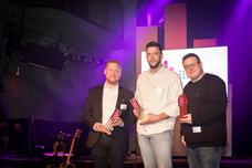 Frank Fürwentsches (Telekom Deutschland), Helge Hoffmann (DDB Düsseldorf), Stephan Moritz (MOKOH Music)