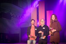 Sascha Petersen (Kolle Rebbe), Klaus Funk (Studio Funk), Hannah Mischlich (Kolle Rebbe)