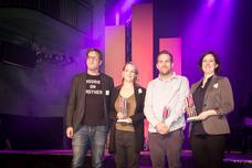 Julijus Rebic (Grabarz & Partner), Dominique Bremer (Grabarz & Partner), Tobias Bürger (Studio Funk), Nica Söderlund (IKEA Deutschland)