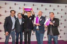 Alexander Maisch (ad.quarter), Thomas Cornelsen (concept media), Tom Krause (ad.quarter), Ulrich Beuth (Flensburger Brauerei), Carsten Berlin (Studio Funk)