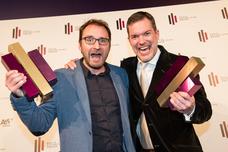 Gewinner Best Innovative Idea: Willy Kaussen (Scholz & Friends), Jan Lohrengel (Hastings)
