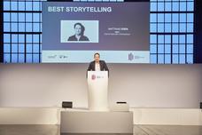 Laudator Best Storytelling: Matthias Oden (W&V)