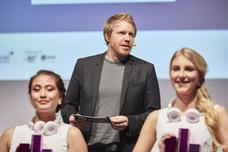 Laudator Audience Award: Jury-Präsident Fabian Frese (Kolle Rebbe)