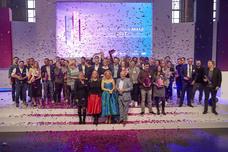 Gruppenbild der Gewinner