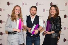 Annika Löhr (Ogilvy & Mather), Nima Gholiagha (Studio Funk), Sara Steiner (Ogilvy & Mather)