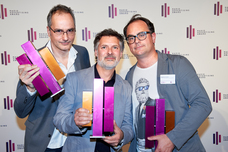 Thomas Auerswald (McCANN), Tobias Grumbach (Studio Funk), Sebastian Hardieck (McCANN)
